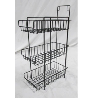 3 TIER COUNTERTOP BASKET
