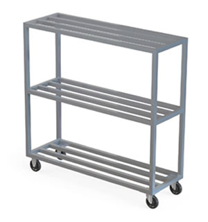 All Welded Tube Shelf