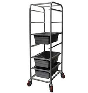 H/D Aluminum Meat Lug Cart