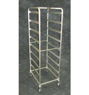 Channel Poly Food Racks