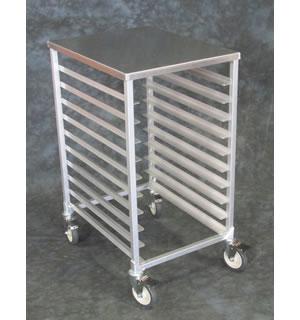 Aluminum Half Size Pan Racks