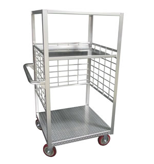 HALF SIZE DIAMOND DECK CART