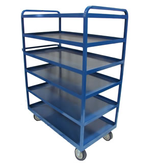 6 SHELF STOCKING CART